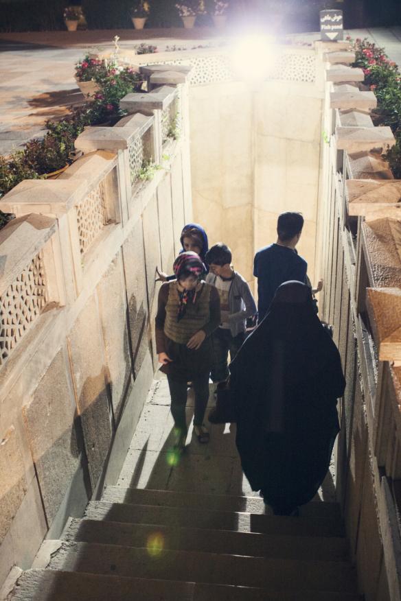 at saadi's tomb