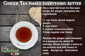 Ginger Fall Tea