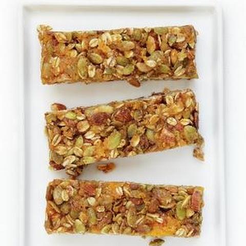 Oat, Apricot and Brazil Nut Fruit Bars