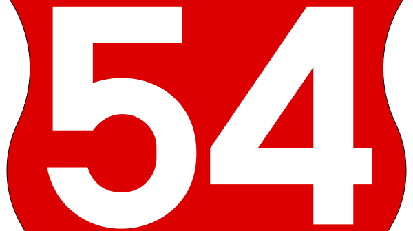 54 sign