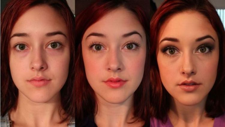 WTFSG-beauty-blogger-documents-reactions-to-her-varying-amounts-of-makeup