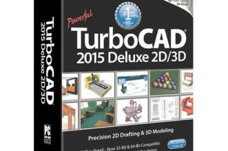 TurboCAD Deluxe 2015 Full Cracked x64 and x86 Free Download
