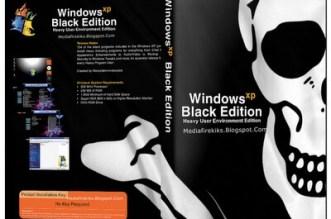Windows XP Black Edition SP3 ISO 2016 (64 + 32Bit) Free Download