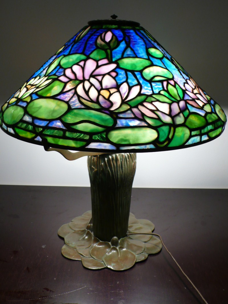 Large Of Stained Glass Lamps