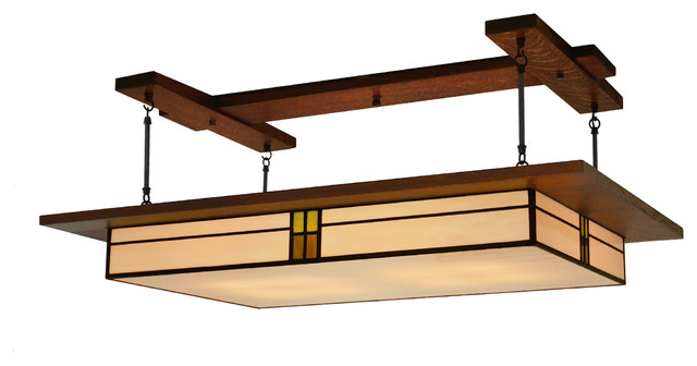 Craftsman Style Ceiling Light Photo - 1