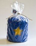 Gold Star Hearth Candle