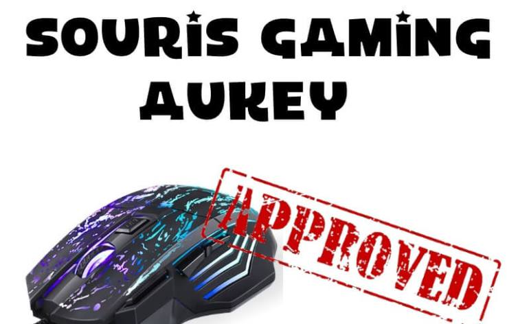 TEst souris Gaming Aukey