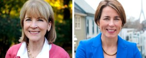 Martha Coakley and Maura Healey