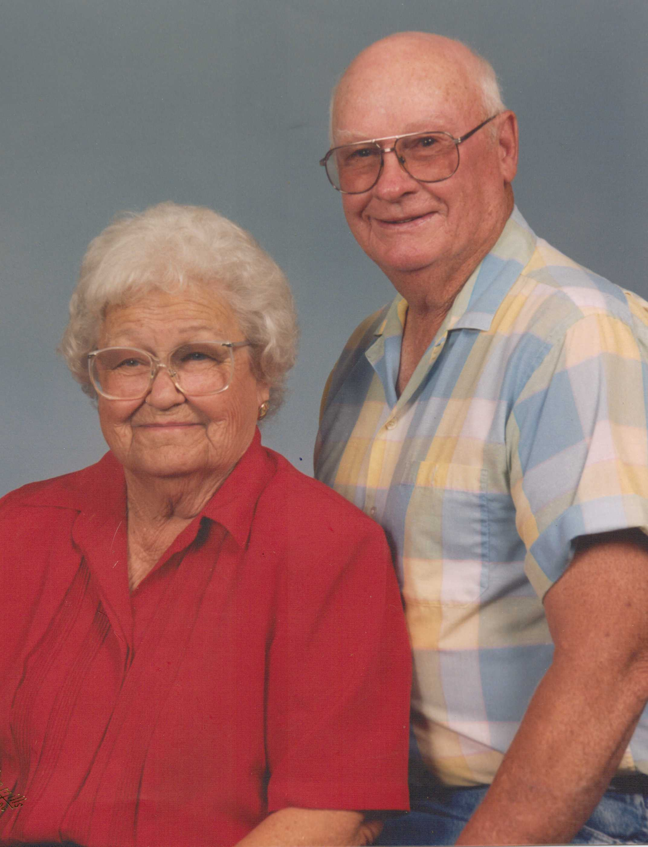 My dad's parents - Nanny and Papa