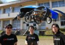 Japanese engineers working on flying car