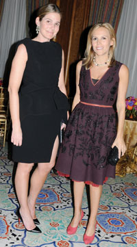 Aerin Lauder and Tory Burch. Photo by Vicky Pombo