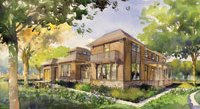 Architectural rendering of the CO2 Freeliving House, currently under construction in McLean, Va. (David Walker)