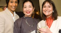 Desirée Rogers, Yoriko Fujisaki, and Lisa Dobbs