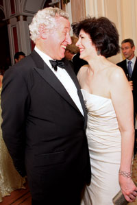 French Ambassador Pierre Vimont and Roxanne Roberts at last year's Opera Ball.