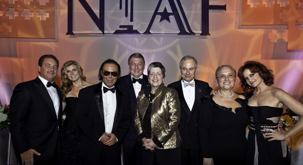 Honorees with NIAF leaders. Photos by Betsy Spruill Clarke