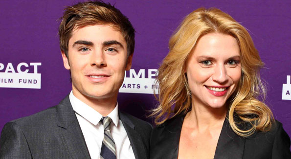 Zac Efron and Claire Danes at the Impact Arts + Film Fund Me and Orson Welles Screening