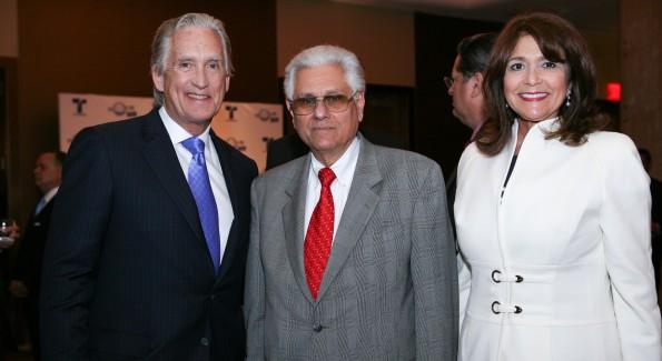 Don Browne, Dr. Robert B. Saladin Selin, Maria Browne.