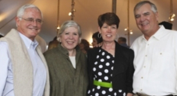 Jack Gansler, Leah Gansler, Mike Laphen, Rosemary Laphen2