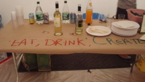 Eat, drink and create!