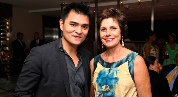 Jose Antonio Vargas and Maureen Orth. Photo by Tony Powell.