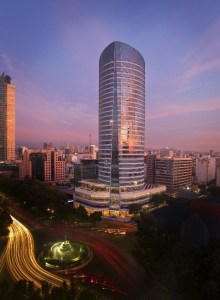 The 189 room St. Regis Mexico City designed by famed architect Cesar Pelli