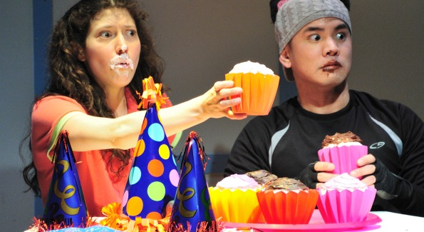 """""""If You Give a Cat a Cupcake at Adventure Theatre"""" Courtesy of Adventure Theatre"""