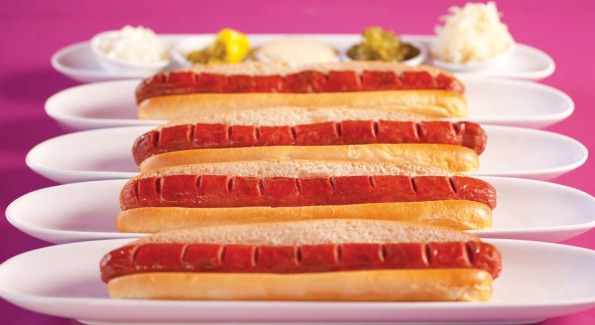 Infamous Foot-Long Hot Dogs from Serendipity 3