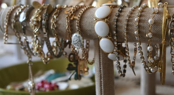 Pretty People Vintage sells an eclectic mix of accessories that are both vintage and contemporary.