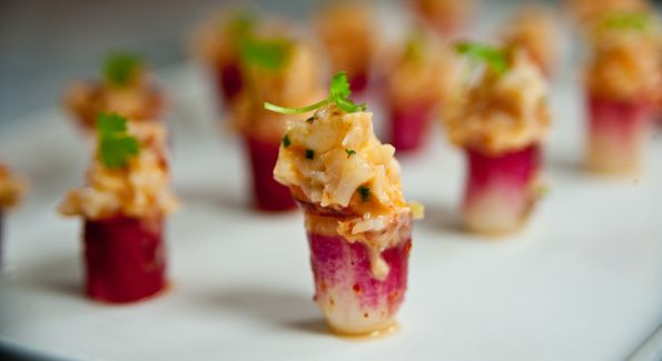 One of the many memorable dishes served at last year's James Beard Celebrity Chef Tour stop in Baltimore.