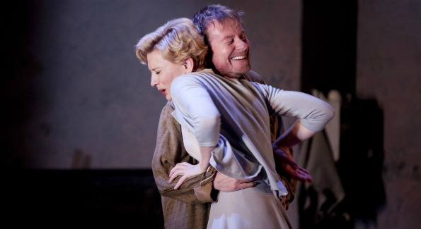 Cate Blanchett and Richard Roxburgh in Sydney Theatre Company's Uncle Vanya photo by Lisa Tomasetti
