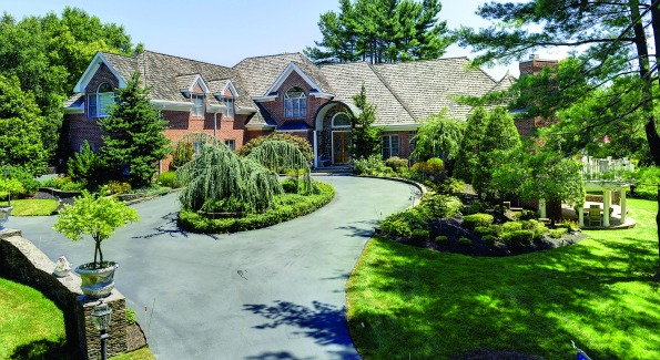 One unique property in Clarksville, Md surrounded by views of three different ponds.
