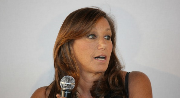 The legendary designer Donna Karan spoke at a luncheon in her honor at the Embassy of France. Photo by John Arundel.