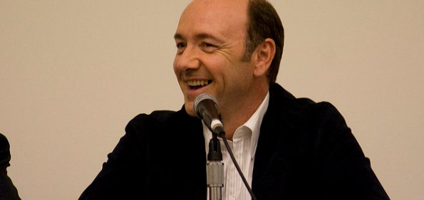 Kevin Spacey during a Q&A session. (Photo by Pinguino)