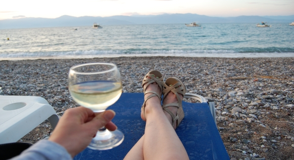 Greece conjures up images of ancient monuments, crystal blue waters and pebbly beaches...but don't forget about the country's amazing wines!