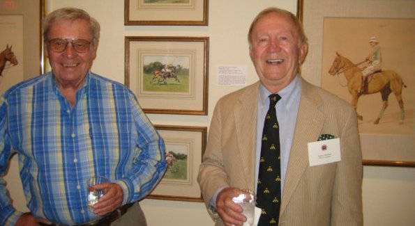 Dick Riemenschneider, Chairman of the USPA and NSLM volunteer Jimmy Hatcher