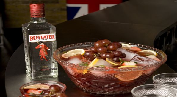 Serve Beefeater Gin Jamboree Punch for your Olympics viewing party.