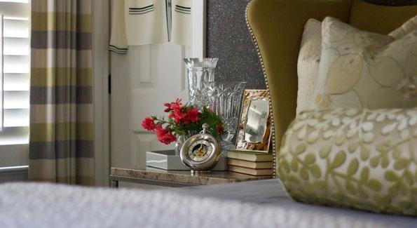 A Christopher Patrick Interiors-designed bedroom. (Photo xxxxxxxxx)