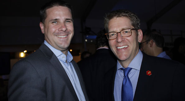 Dan Pfeiffer and Jay Carney