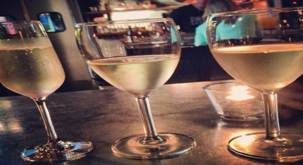 Vinoteca is offering a flight as part of its Summer of Riesling promotion. Photo courtesy of Vinoteca.