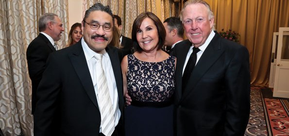 Bob Hisaoka with Bonnie and Dick Patterson (Photo by Tony Powell)
