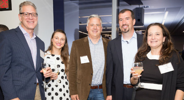 ick Buettner, Lauren Storall, Marko Cernovic and Doug VanDyke, all of Amazon Web Services and Lisa Mitnick, of Accenture