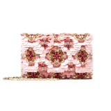 Oscar de la Renta soft petal embroidered satin D.D. bag with Swarovski crystals ($1,790); oscardelarenta.com