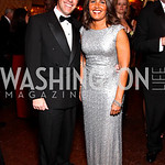 Matt Hoye, CNN anchor Suzanne Malveaux. CNN Congressional Correspondent's Dinner After Party. Photo by Tony Powell. Lincoln. March 30, 2011