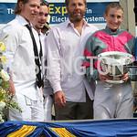 Nicklas Backstrom, Marcus Johansson, Bill Dean & Gus.