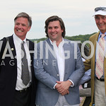 Rob Banner, Eddie Frederick & Chairman WIll Allison