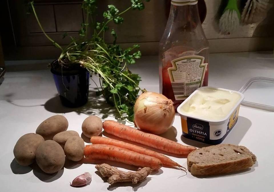 Vierasblogi: Ruokahävikistä ennen kauppaa ja kotona