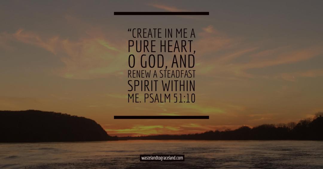 create pure heart