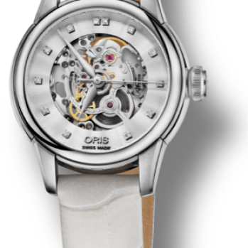 Oris Artelier Skeleton Diamond2