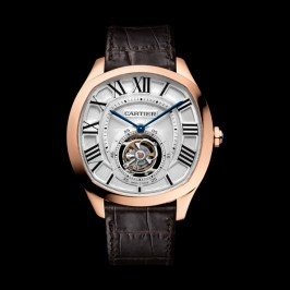 W4100013 Drive OR Tourbillon cuir marron