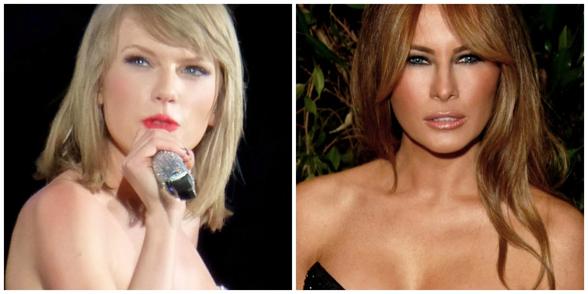 Pretty Little Liars: Taylor Swift, Melania Trump and White Femininity